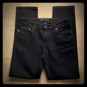 Levi's Black Mid-rise skinny Jeans sz 10m